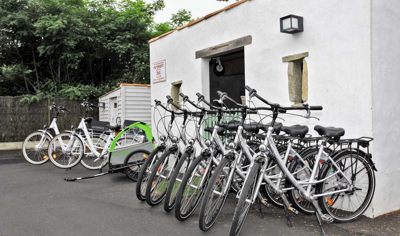 balade à vélo près du camping en Vendée